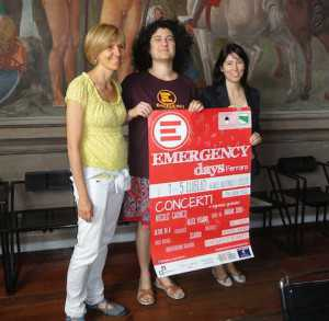 conferenza stampa emergency