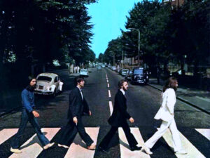 The Beatles, Abbey Road( Foto Flickr.com - licenza creative commons)